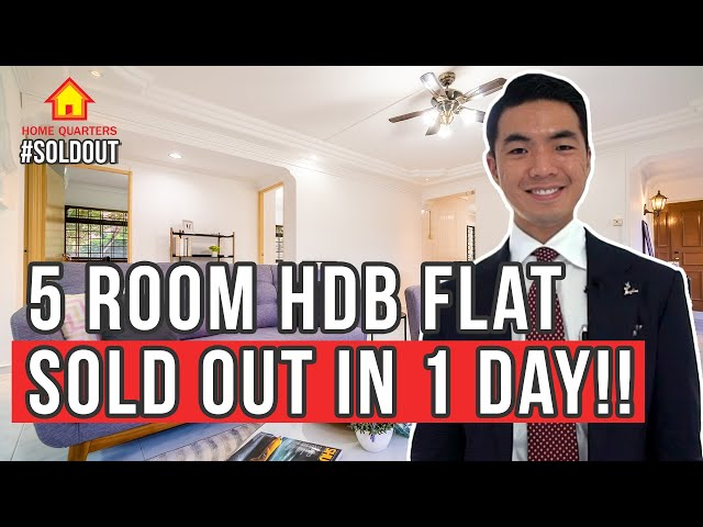 5 Room HDB Sold in ONE DAY! | Soldout Ep1