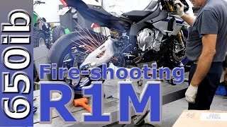 yamaha r1m delivery two brothers exhaust install motovlog