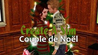 Les Sims 3: Create-A-Sim | Couple de Noël
