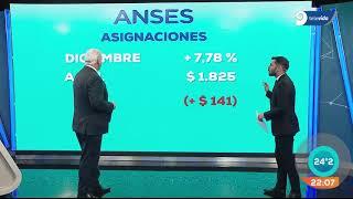 Anses: Aumento del 7,78 % para jubilados