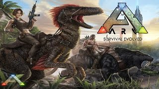 ARK: Survival Evolved Gameplay - OMG Dinosaurs!  (First Look Gameplay Max Settings) (1080p 60FPS)