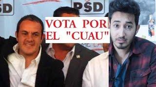 Vota por Cuauhtémoc Blanco hará pipí en la corrupción Cuernavaca Alcalde
