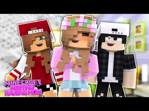 LITTLE KELLY MEETS RAVENS NEW MOM! Minecraft