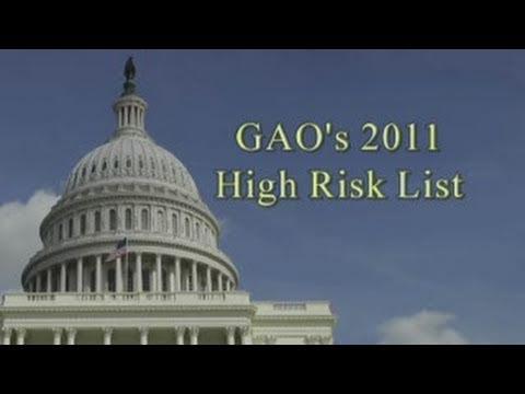 GAO: High Risk List 2011: Comptroller General Gene Dodaro
