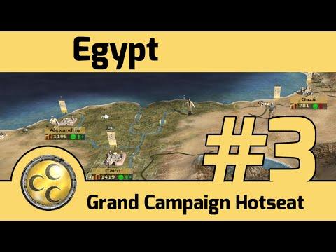 M2TW - Grand Campaign Hotseat - Egypt #3 - Battle for Jerusalem
