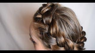 Warkocz korona - fryzura w 5 minut