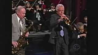 Doc Severinsen - Here's That Rainy Day Johnny Carson tribute on David Letterman