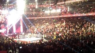 wwe raw the shield promo live 2013/04/01