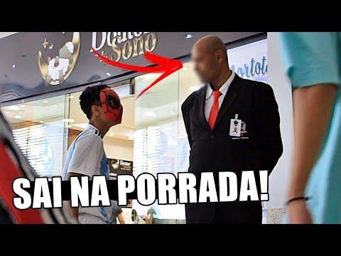 SAI NA PORRADA FANTASIADO DE HERÓI #RESPONDAGABRIEL35