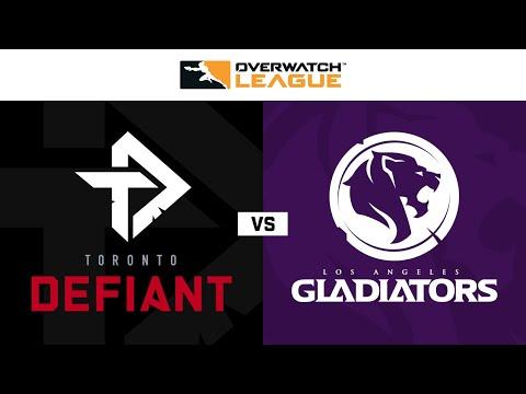Toronto Defiant Vs Los Angeles Gladiators Week 13 Day 2 Part 2 Youtube
