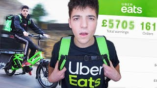 I Worked a Job At UberEats for a Week & Made £___