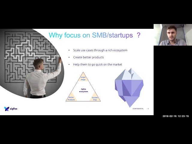 Ven 16 fev 2018 Sigfox Start & Scale - Webinaire Cleantech Business Angels