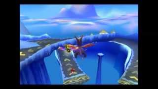 Spyro: Year of the dragon - Icy Peak red egg thief