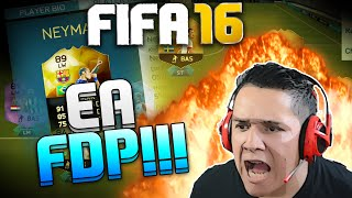INFORM NEYMAR NOS PACKS!!! PARABÉNS EA!! FIFA 16 PACK OPENING