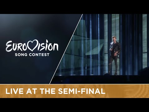 Justs - Heartbeat (Latvia) Live at Semi-Final 2 of the 2016 Eurovision Song Contest