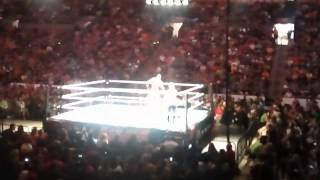 Wwe live in Boston mark Henry vs ryback