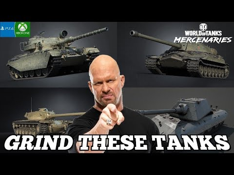 7 Tanks That You Should Consider Grinding in World of Tanks: Mercenaries