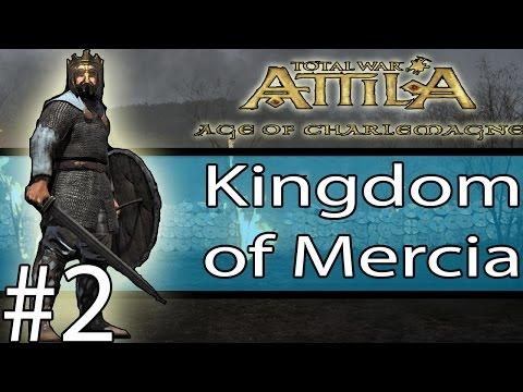 Total War: ATTILA - Age Of Charlemagne - Kingdom of England #2 ~ Creating England!