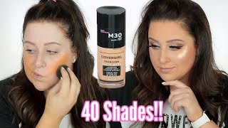 NEW COVERGIRL TRUBLEND MATTE MADE 12 HOUR WEAR TEST REVIEW!!