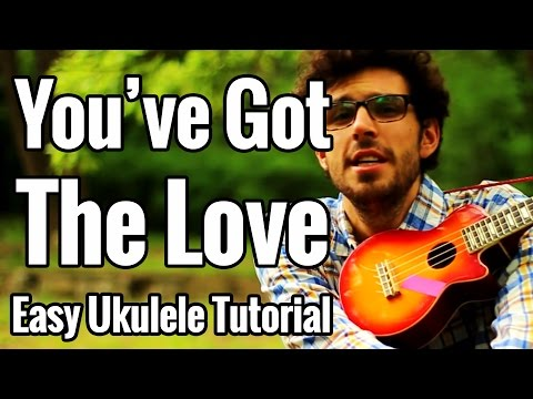 Florence And The Machine - You've Got The Love - Ukulele Tutorial Chords Play Along