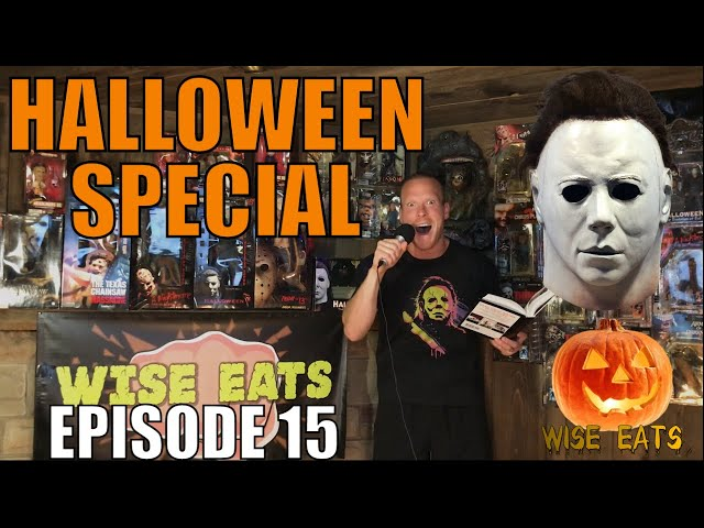 Halloween Special – Top 10 Horror Movies, Fun Facts, A Scary Story & MORE (Wise Eats Episode 15)