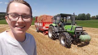 FarmVlog #12 | Stroh einfahren | Deutz 3.65 | Moareida Agrar