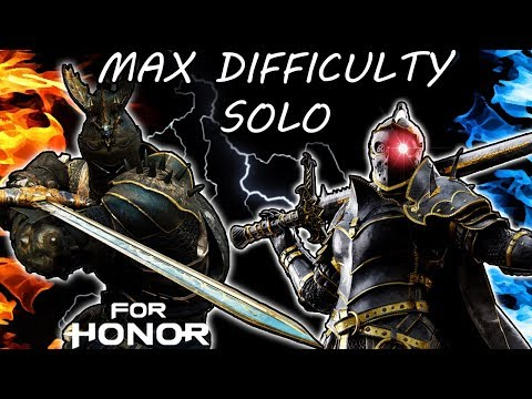 [For Honor] SOLO Test Your Metal Week 3! - Max Difficulty