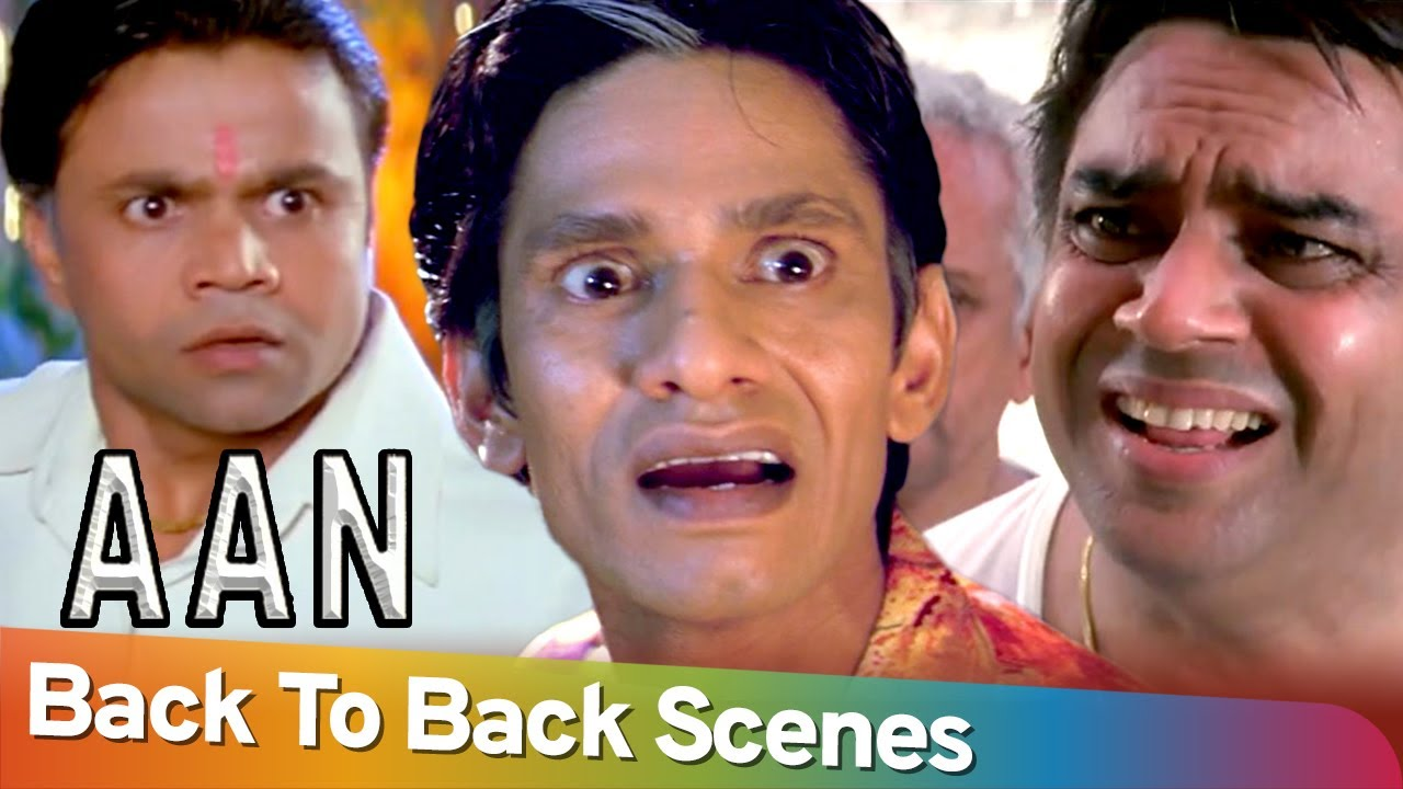 Back to Back Comedy Scenes |  Movie Aan Men At Work | Paresh Rawal - Rajpal Yadav - Vijay Raaz