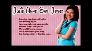 Repeat youtube video I'll Be There - Julie Anne San Jose | Lyrics