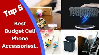 Best Budget Cell Phone Accessories!