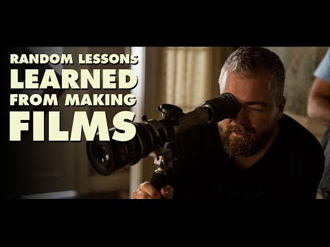 Random Lessons Learned