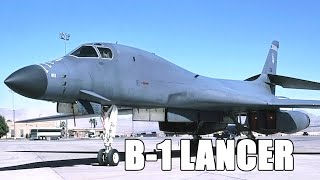 This US Giant Aircraft Can Fold its Wings to go Faster - Rockwell B1 Lancer History