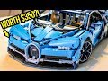 Here's Why The LEGO Bugatti Chiron Is Worth $350