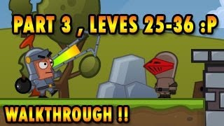 Bomb Besieger Walkthrough, Part 3 Chapter 3, Levels 24-36, BigDino Games help