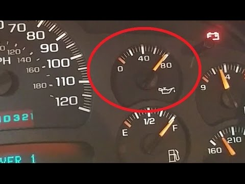 How to Change an Oil Pressure Gauge Sensor Tahoe Suburban ...