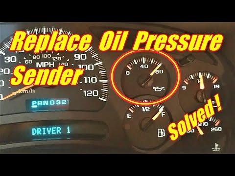 2006 Chevrolet Silverado 1500 Fuse Pannel Diagram How To Change An Oil Pressure Gauge Sensor Tahoe Suburban