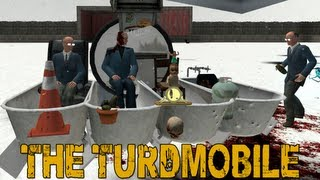 The Turdmobile (garry's Mod: Sled Build)