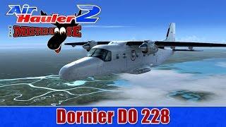 Air Hauler 2   FSX   Dornier DO 228 by Carenado to Memphis   KJKA - KAWM
