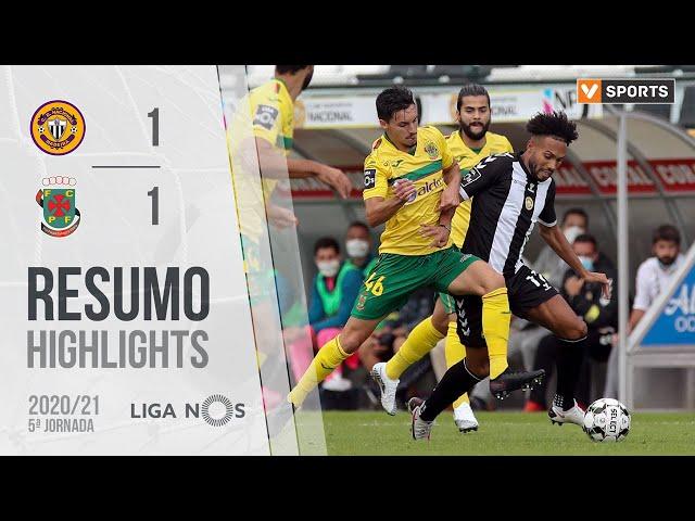 Highlights | Resumo: CD Nacional 1-1 Paços de Ferreira (Liga 20/21 #5)