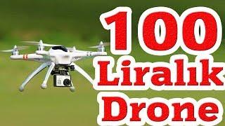 100 Liralık Drone ile Mükemmel Uçuş (En ucuz ve en iyisi)