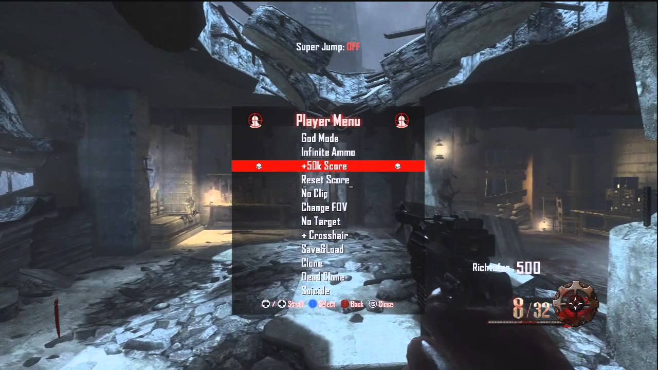 All - BO2 Zombies Mod Menu Loz Menu PC/XBOX/PS3 +Download