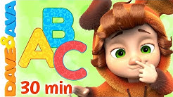 🥁 ABC Song and More Baby Songs | Dave and Ava Nursery Rhymes and Kids Songs 🥁
