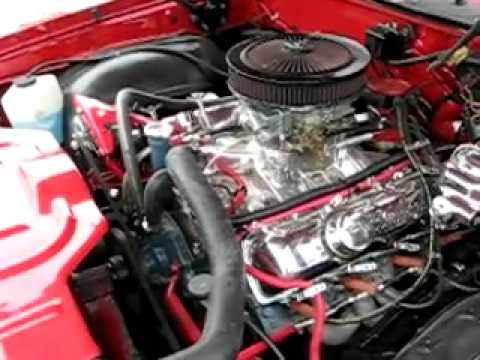 1970 Oldsmobile Sx455 Engine Running Cutlass Supreme