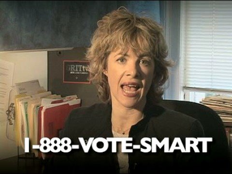 Vote Smart: registered to vote? make sure everyone you know is too!