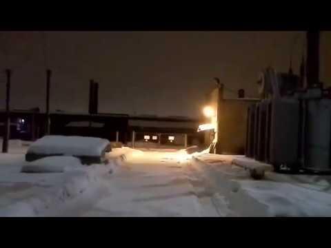Коронирование и электрические разряды на изоляции ОРУ 110кВ