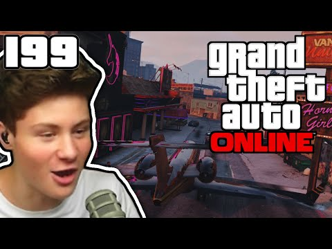 IM PRIVATJET ZUM PUFF! :D | GTA ONLINE #199 | Let's Play GTA