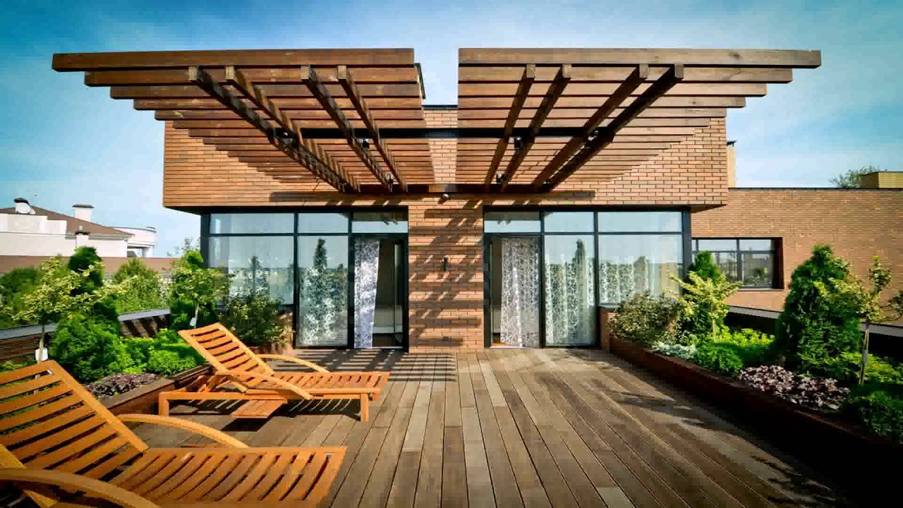 Nice House Plans With Roof Deck Terrace