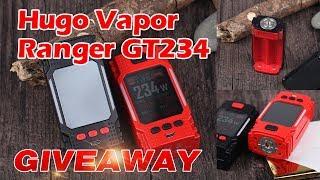 GIVEAWAY! Hugo Vapor Ranger GT234!  2.0 inch TFT Color Screen!