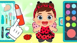 BABY LILY Dresses up as Little Bug 🐞 Educational Videos for Kids in English