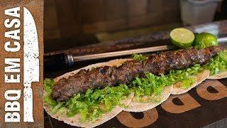 Como fazer Kebab ou X-Salada Árabe